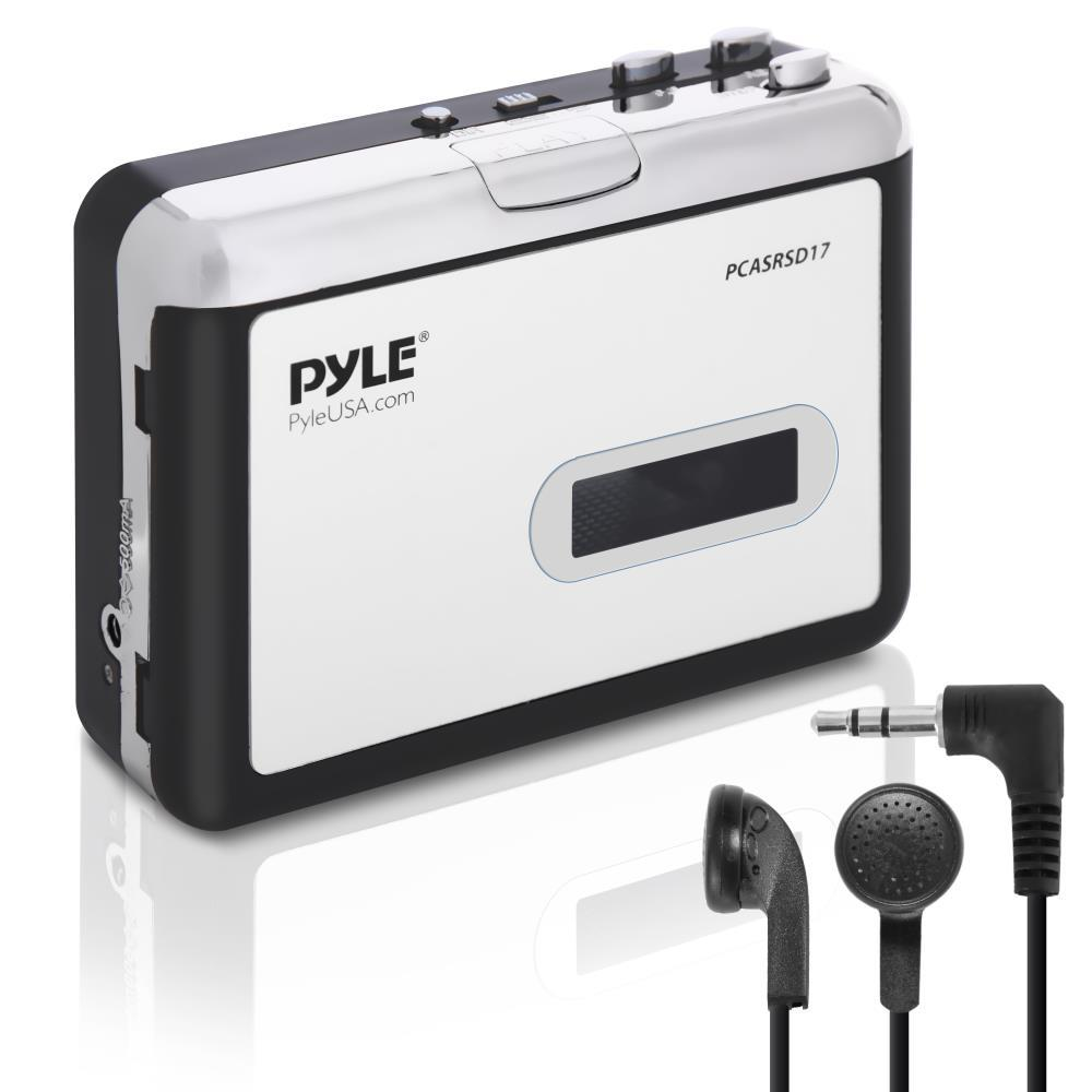 pyle pcasrsd17 cassette tape to mp3 converter recorder tape audio digitizer. Black Bedroom Furniture Sets. Home Design Ideas