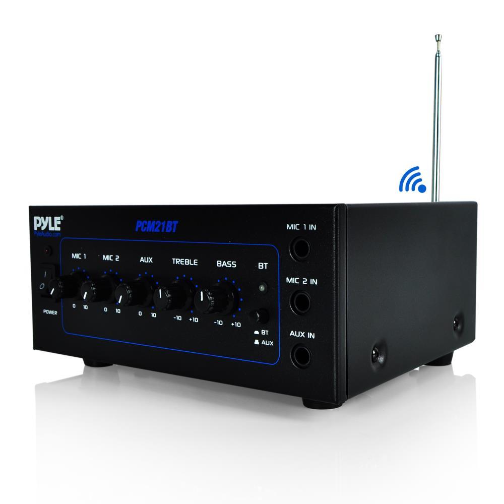 Pyle Pcm21bt Compact Bluetooth Power Amplifier 2