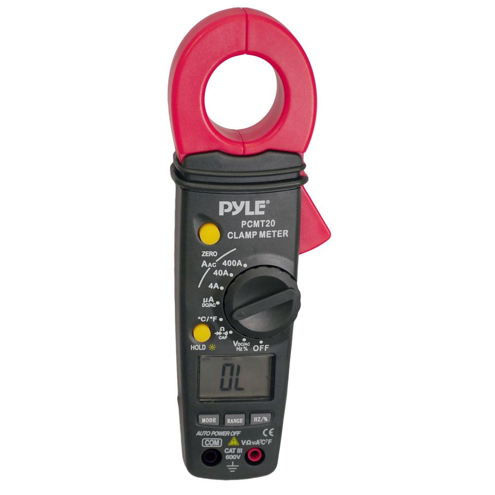 Ac Dc Current Clamp On Meter : Pyle pcmt digital clamp meter ac dc current voltage