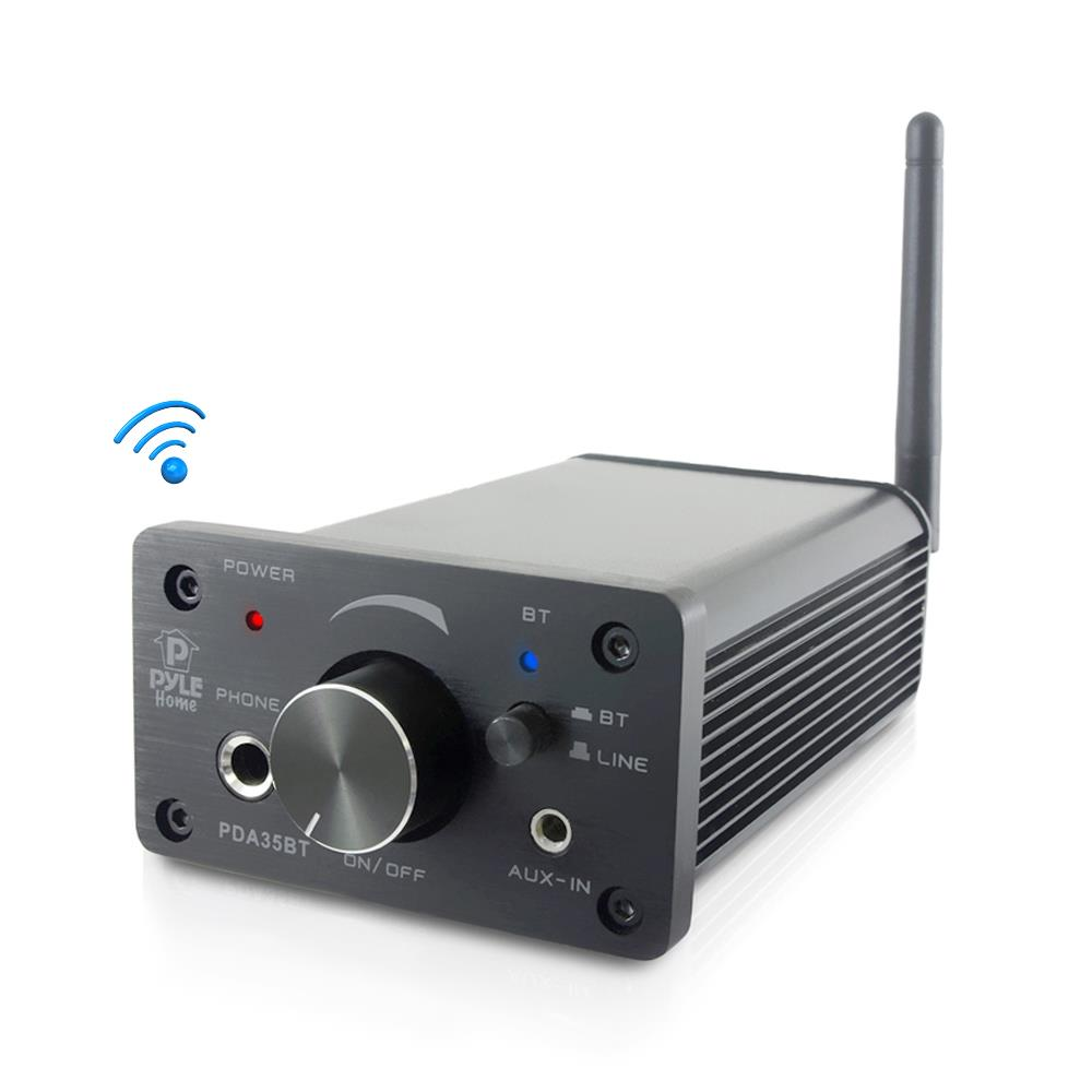 Pyle Pda35bt Compact Bluetooth Amplifier Mini