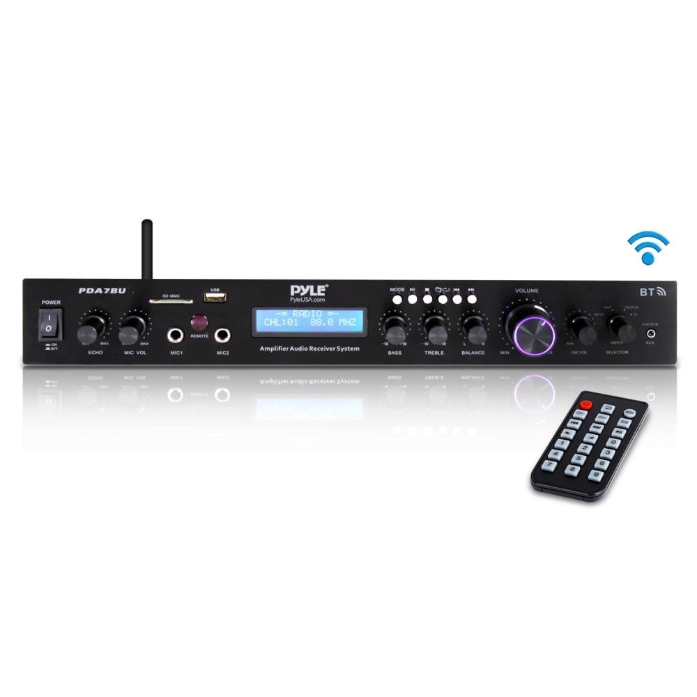 Pyle Pda7bu Home Theater Amplifier Audio Receiver