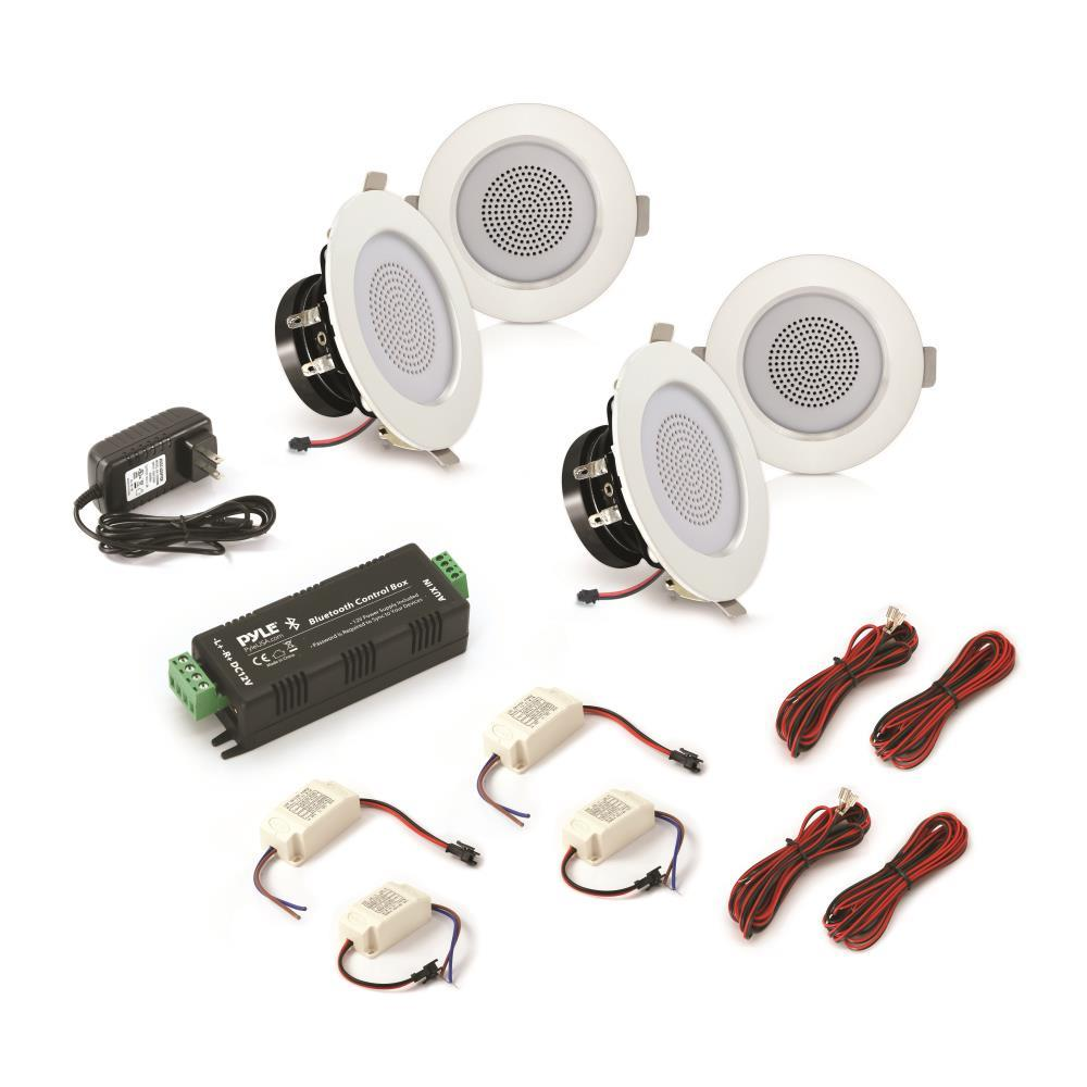 Pyle Pdic4cbtl3b 3 Bluetooth Ceiling Wall Speaker