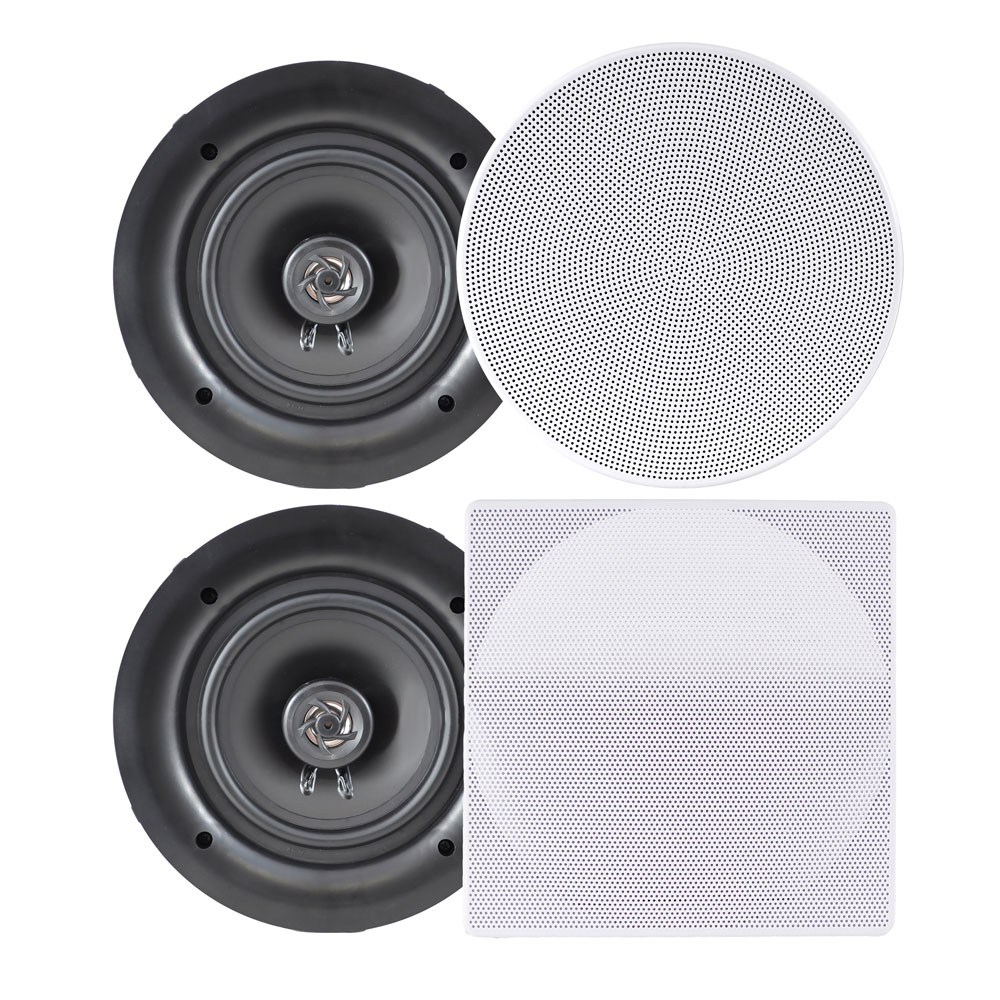 """6.5"""" In-Wall / In-Ceiling Dual Stereo"""
