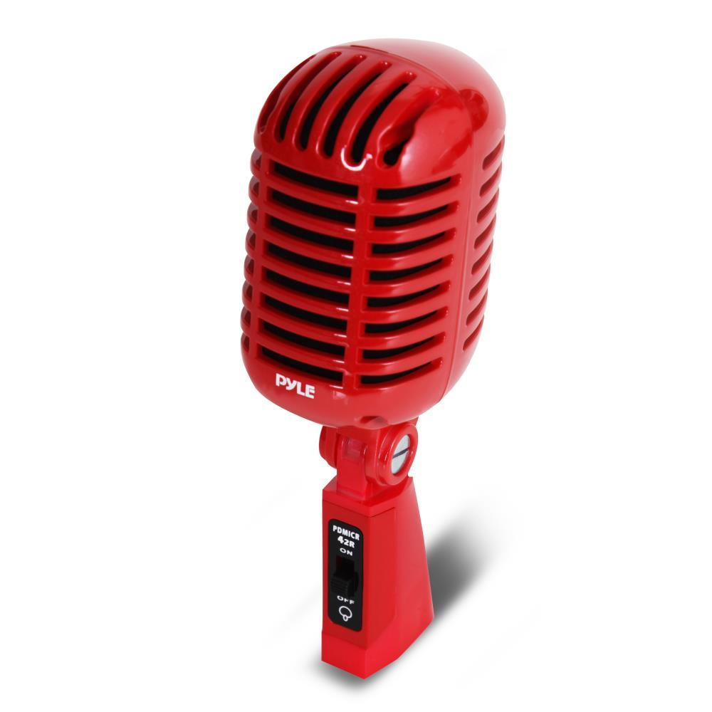 Pyle pdmicr42r classic retro dynamic vocal microphone for Classic house vocals acapella
