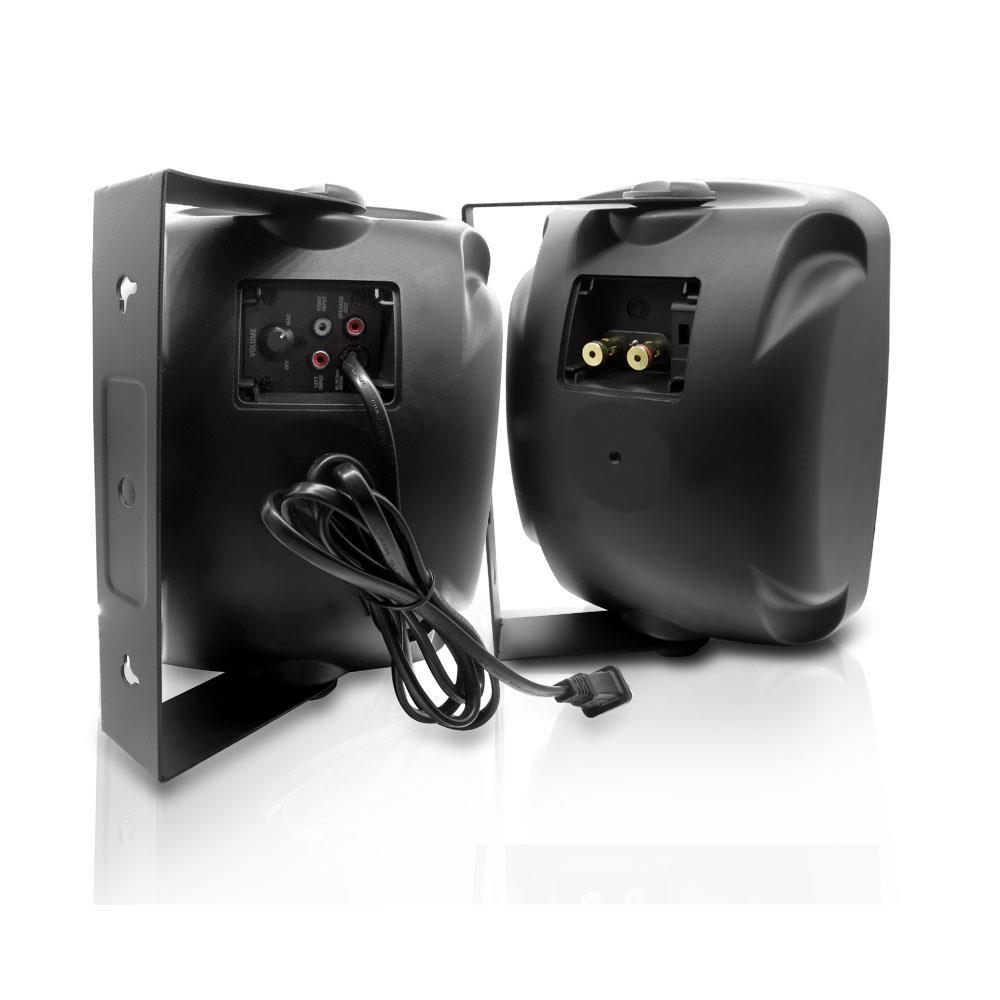 Pyle Pdwr54btb Waterproof Amp Bluetooth 5 25 Indoor