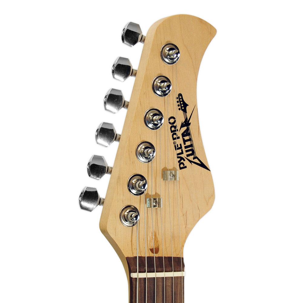 Guitar Wiring For Beginners : pylepro pegkt15b beginners electric guitar kit includes amplifier accessories black ~ Russianpoet.info Haus und Dekorationen