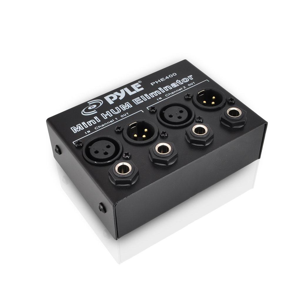 Pylepro Phe400 Hum Noise Eliminator 2 Channel Box With
