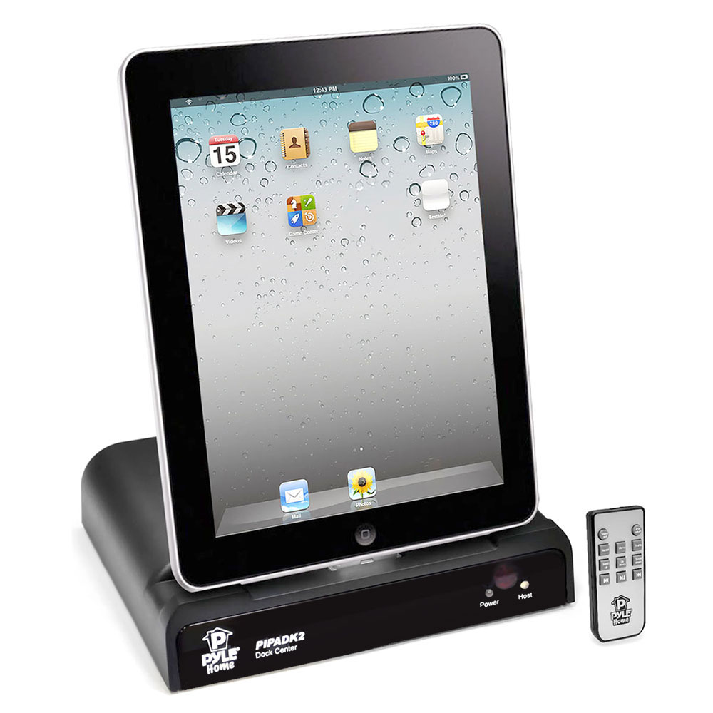 pyle pipadk2 universal ipod ipad iphone docking. Black Bedroom Furniture Sets. Home Design Ideas