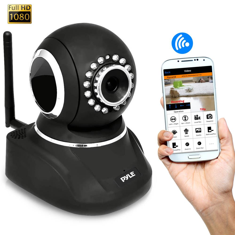 Pylehome Pipcamhd82bk Ip Cam Wifi Security Camera