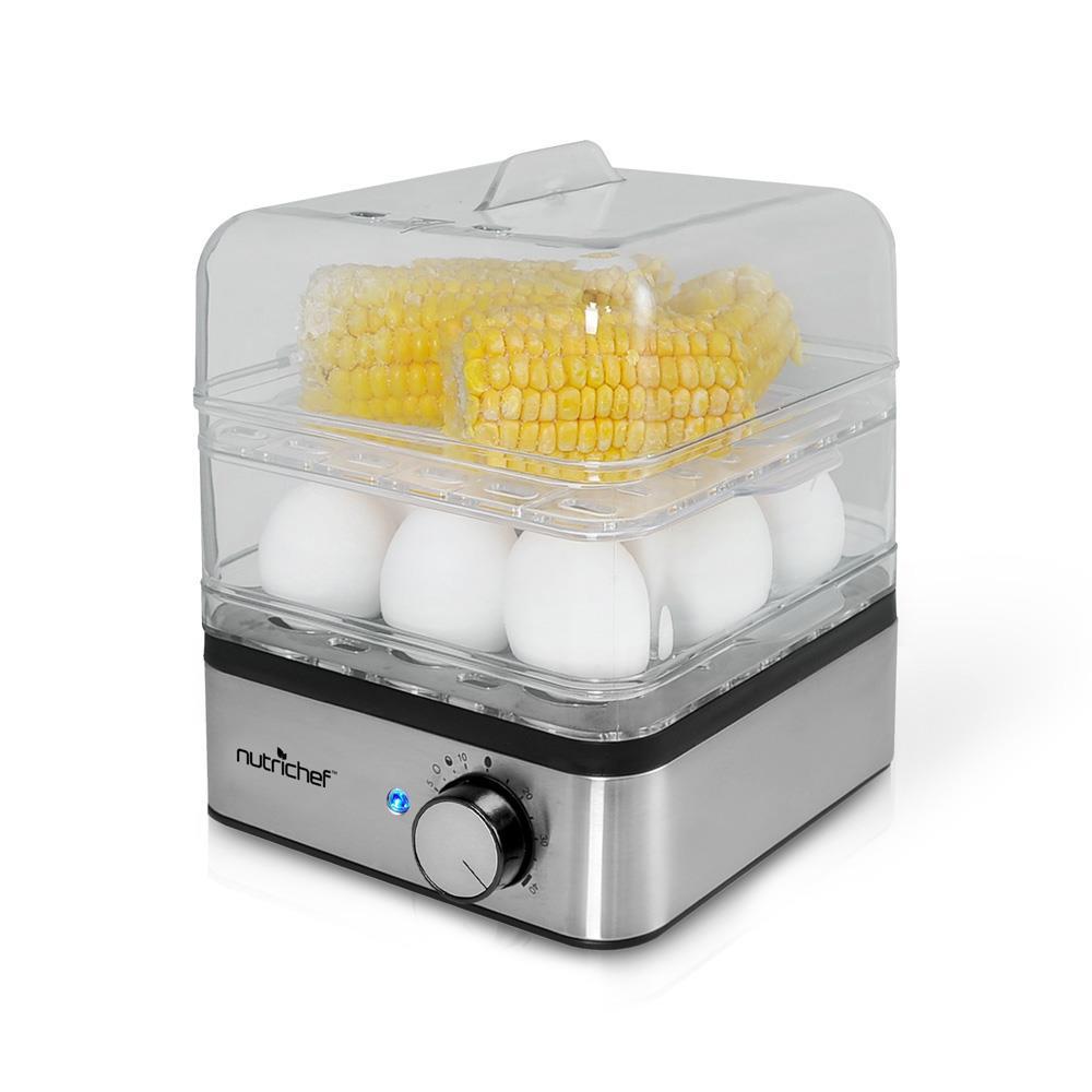 Vegetable Steamers Walmart ~ Pyle pkec electronic food steamer egg cooker boiler