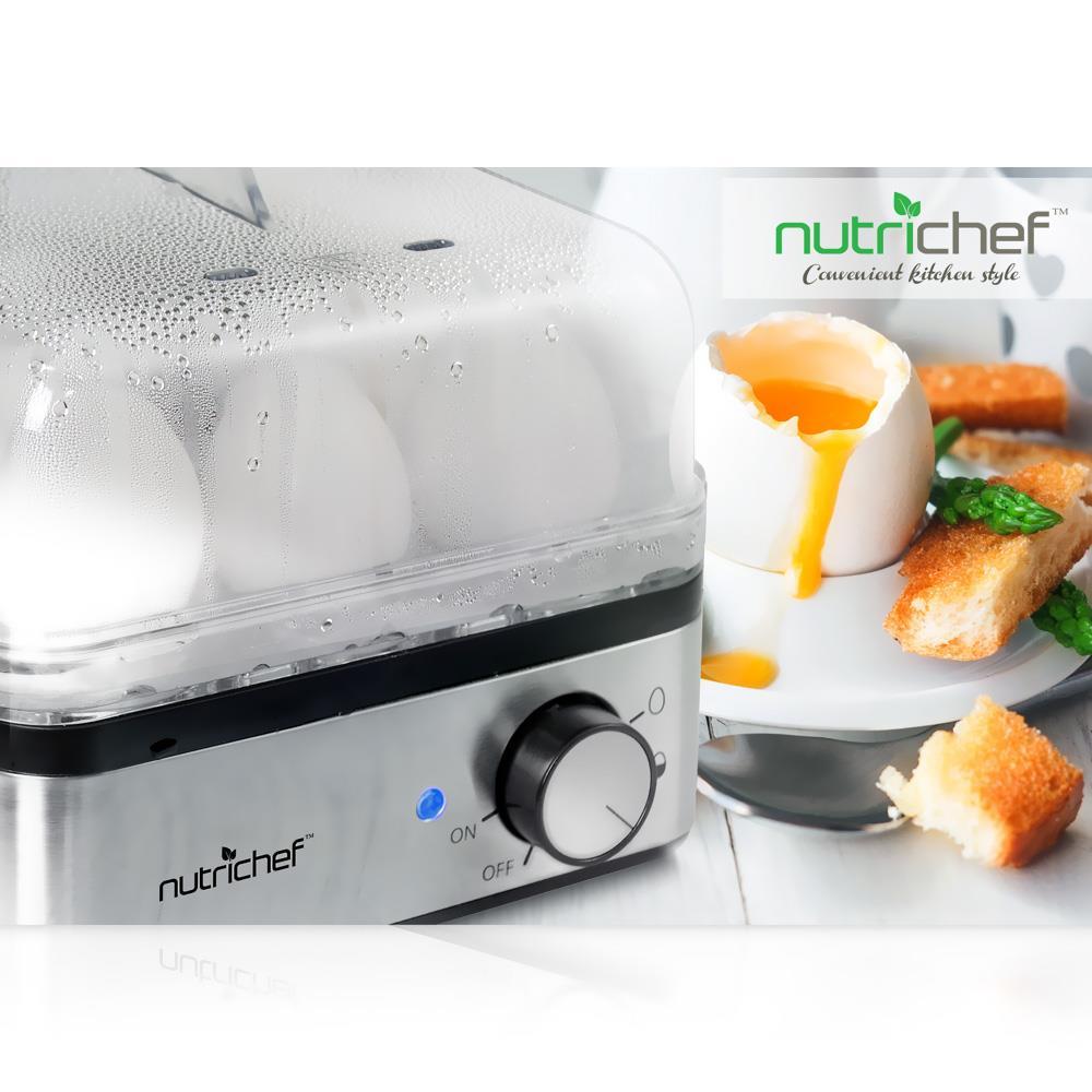 Electronic Food Steamer ~ Pyle pkec electronic food steamer egg boiler