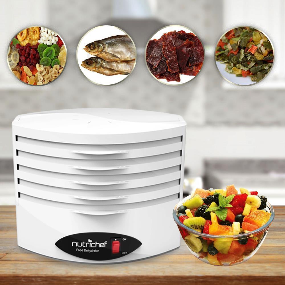 Nutrichef Pkfd18wt Food Dehydrator Electric Kitchen