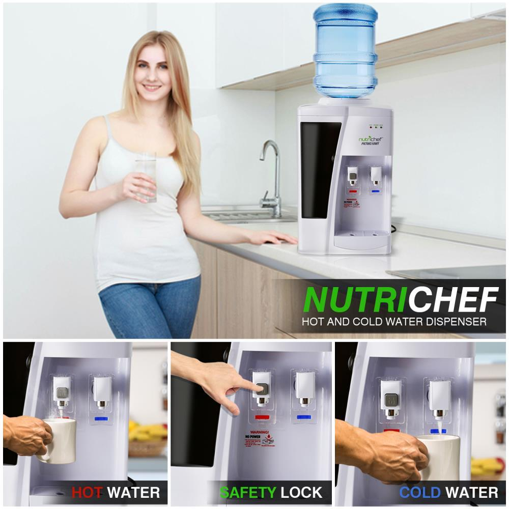 Nutrichef Pktwc10wt Water Dispenser Hot Amp Cold Water