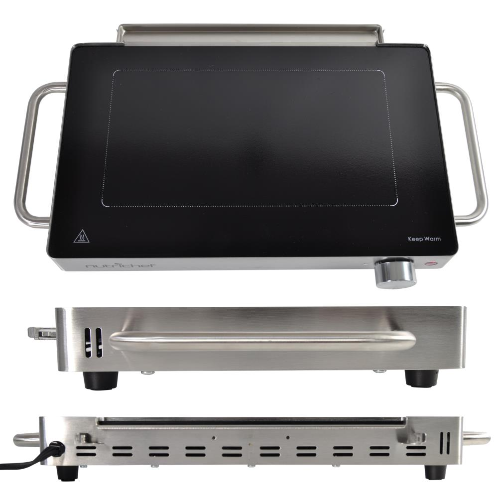 Electric Cooktops With Grill ~ Nutrichef pkwtrgr portable electric cooktop grill