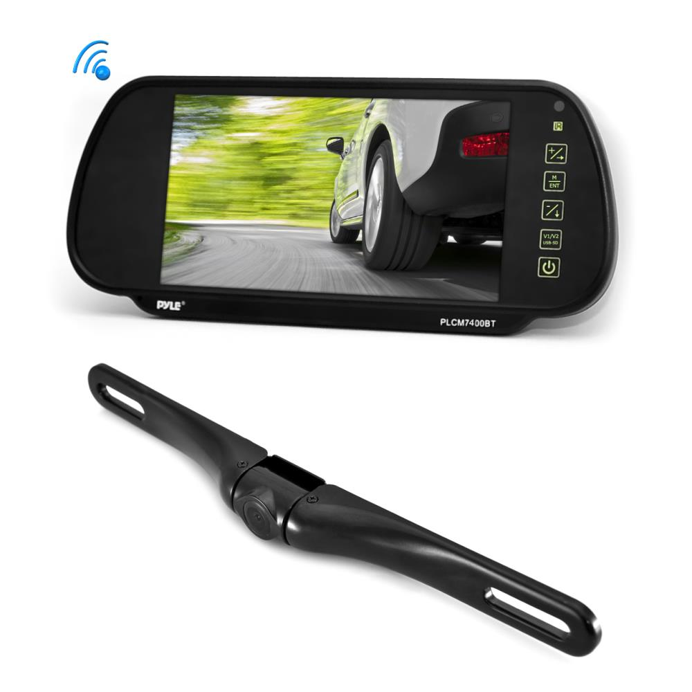 Pyle Plcm7400bt Bluetooth Rearview Backup Camera
