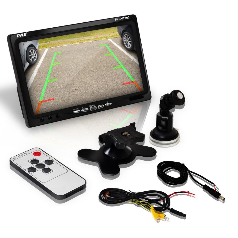Pyle Plcm7700 Rear View Backup Camera And Monitor