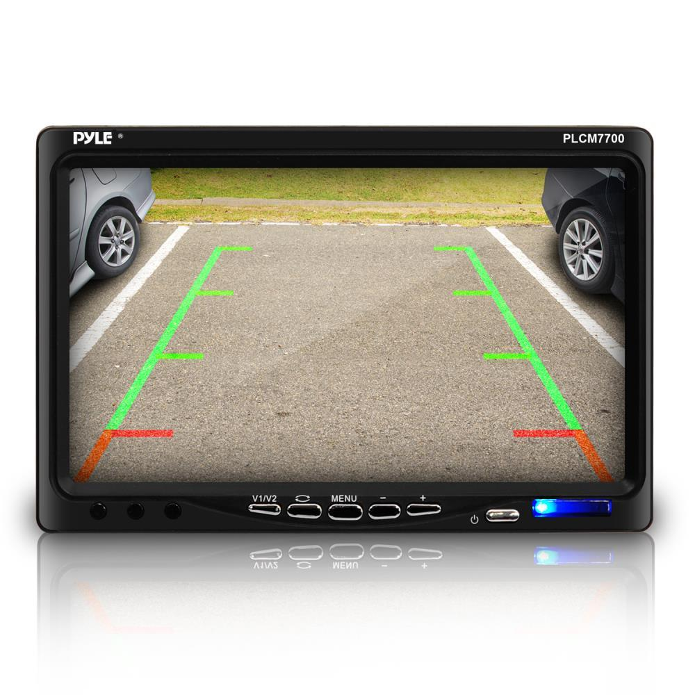 Pyle Backup Camera >> Pyle - PLCM7700 - Rear View Backup Camera and Monitor System with 7'' LCD Display Screen ...