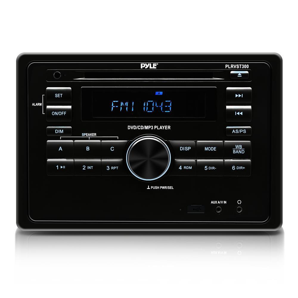 Pyle Plrvst300 Rv Wall Mount Bluetooth Audio Video