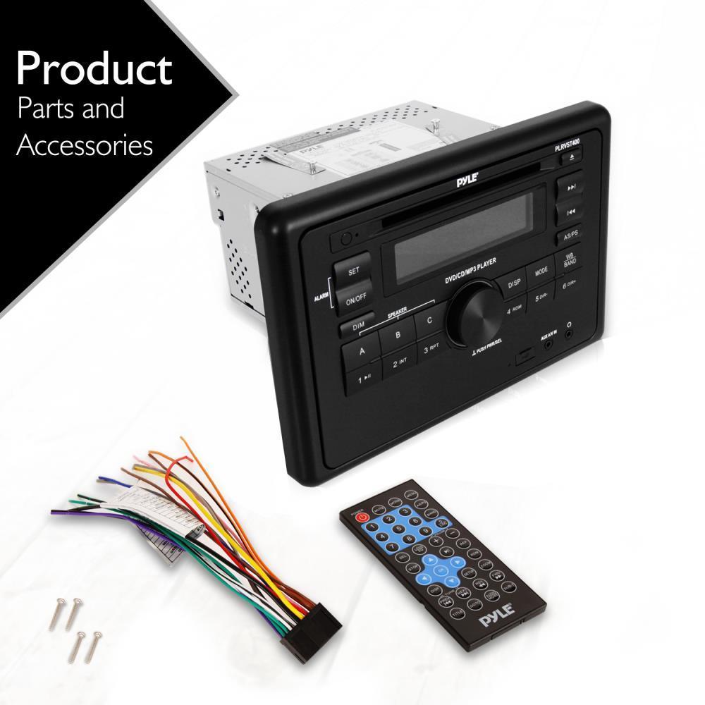 Pyle Plrvst400 Rv Wall Mount Audio Video Receiver Av