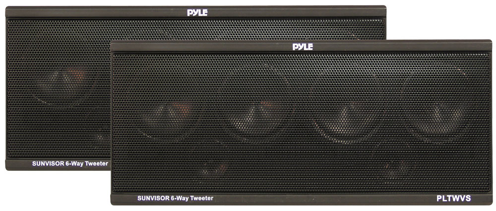 Pyle Pltwvs 6 Way Sunvisor Mount 200 Watt Tweeter System