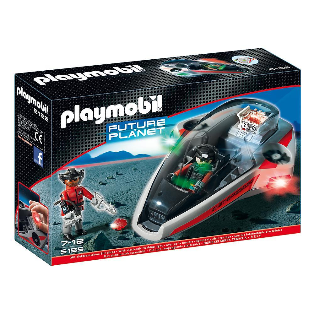 Wireless Car Speakers >> PlayMobil - PM5155 - Future Planet Darksters Speed Glider 5155