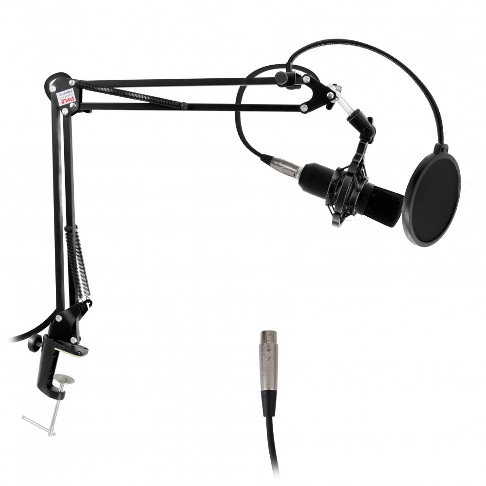 Pyle Pmksh01 Suspension Microphone Boom Stand Studio
