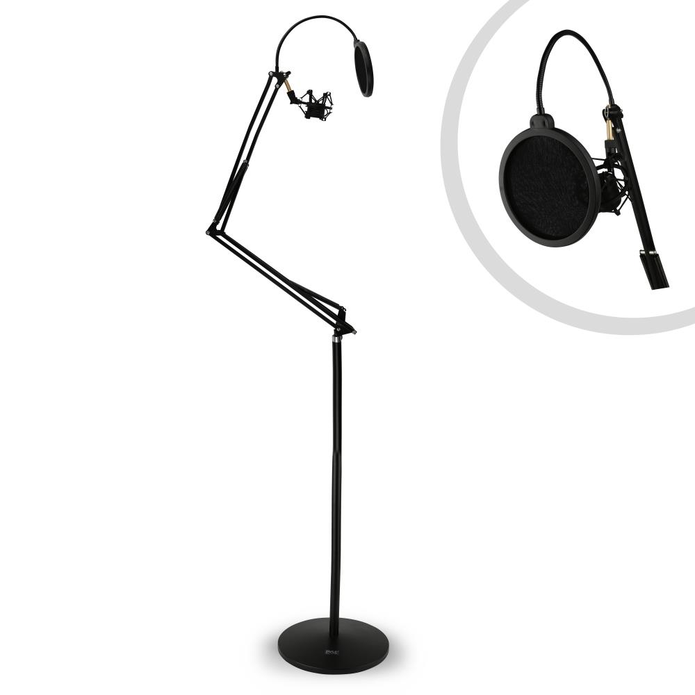 Pyle Pmksh28 Floor Standing Suspension Microphone Boom