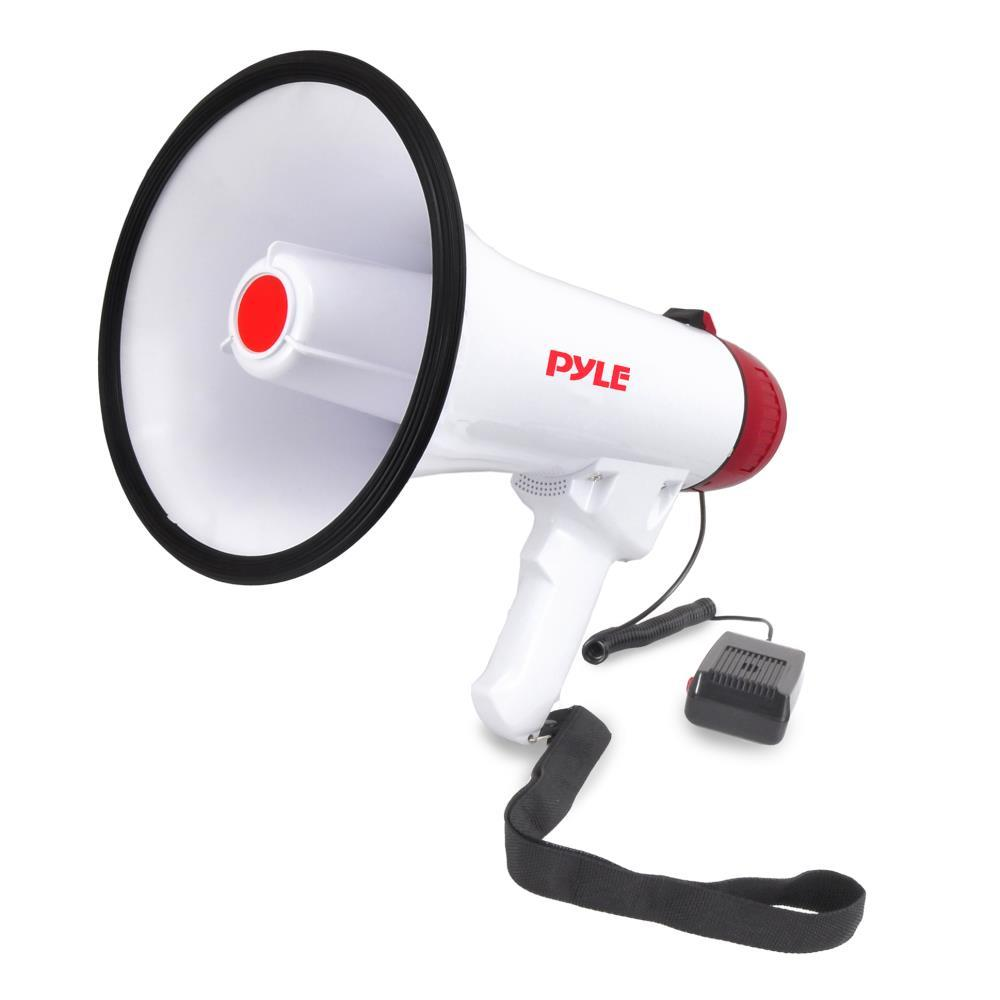 Pylepro Pmp40 Megaphone Bullhorn With Plug In