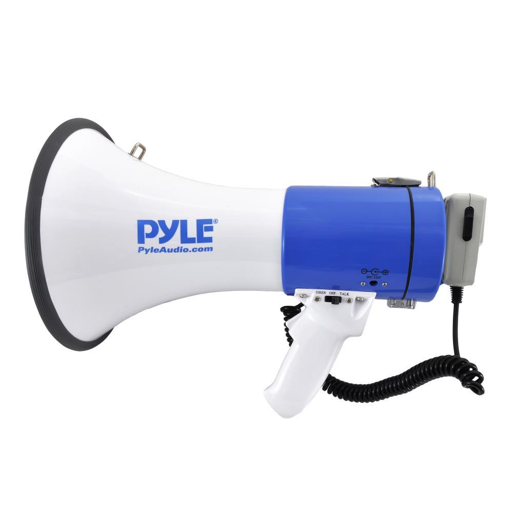 Pylepro Pmp50 Megaphone Pa Bullhorn With Siren Alarm