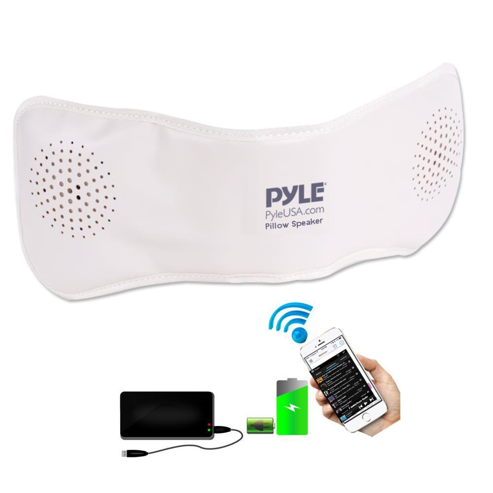 Bluetooth Pillow Speaker With Built-in Speakers For Wireless Music Streaming