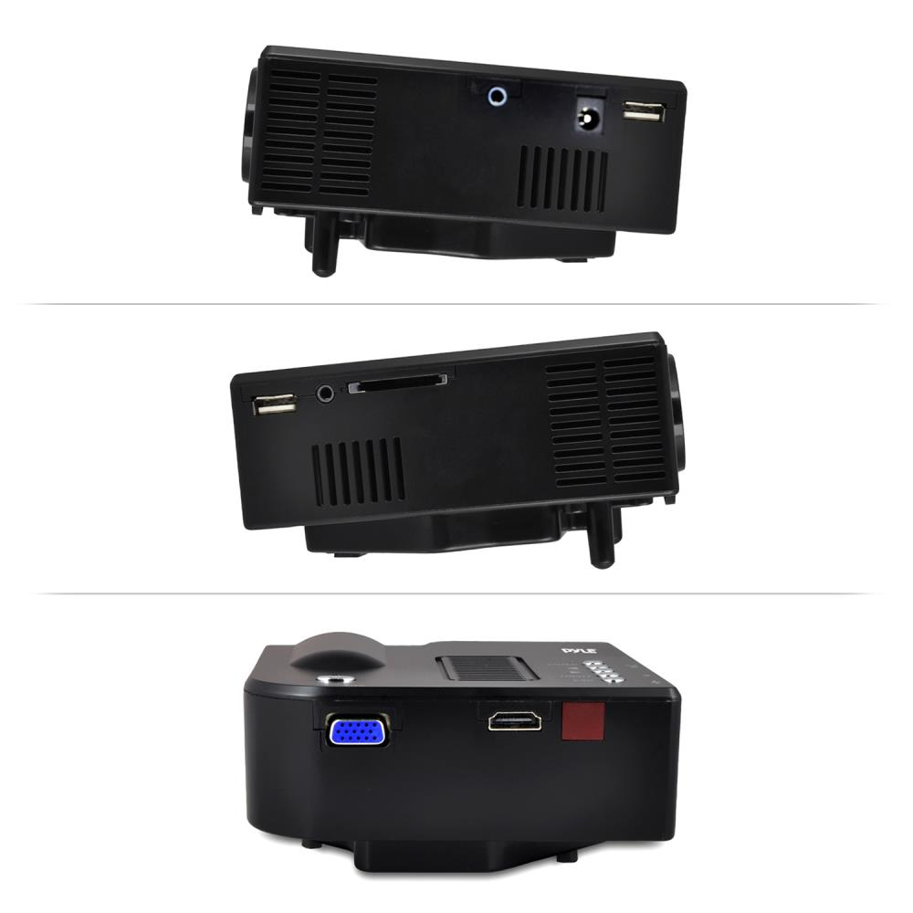 Pyle prjg48 mini compact pocket projector 1080p for Compact projector