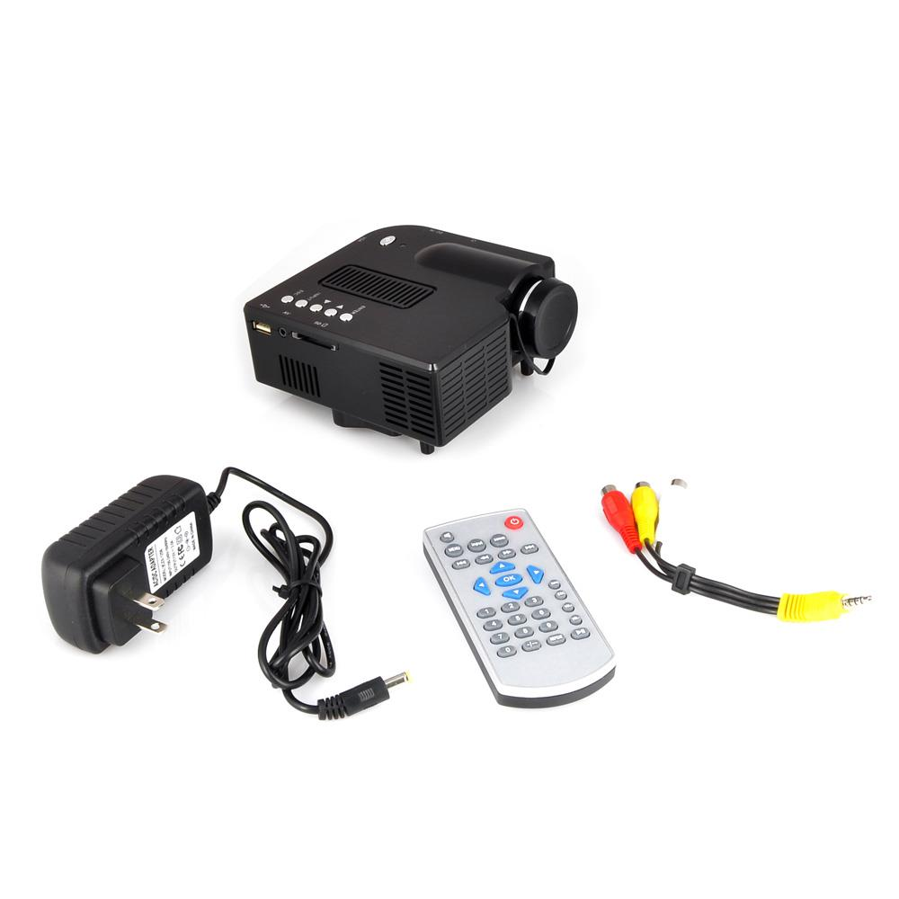 Pyle prjg48 mini compact pocket projector 1080p for Hdmi pocket projector