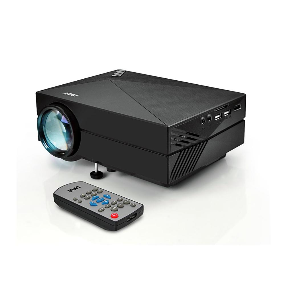 Pyle prjg82 compact digital multimedia projector hd for Smallest full hd projector