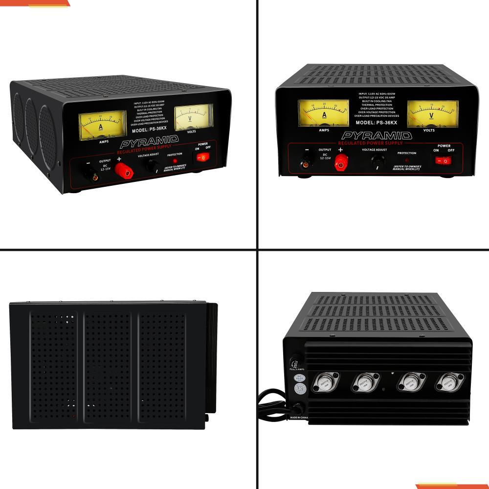 pyramid ps36kx 32 amp adjustable power supply. Black Bedroom Furniture Sets. Home Design Ideas