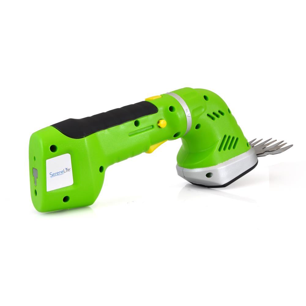 Serenelife Pslgr14 Cordless Handheld Grass Cutter