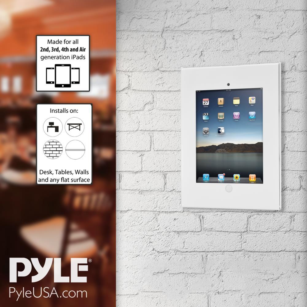 Pyle Pspadlkw06 Security Anti Theft Ipad Wall Mount