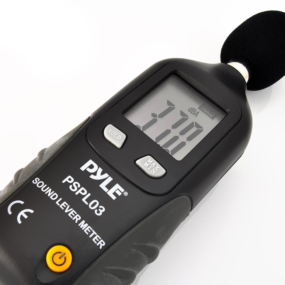 Sound Frequency Meter : Pyle pspl mini sound level meter with a frequency