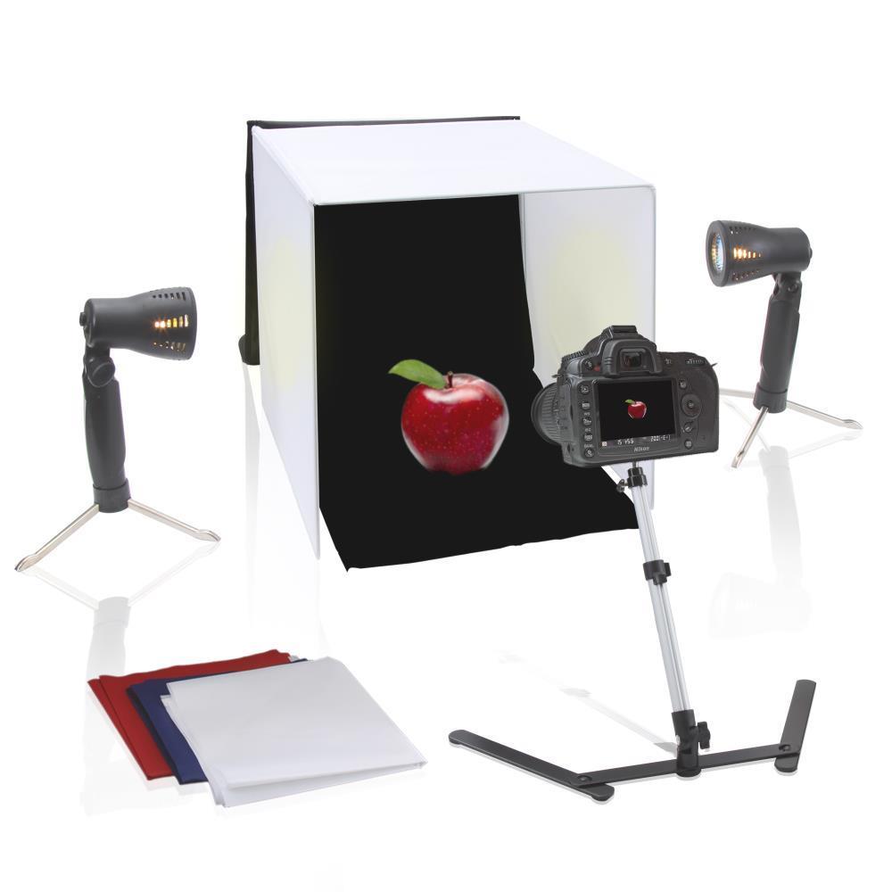 pyle pstdkt8 studio photo light booth image. Black Bedroom Furniture Sets. Home Design Ideas