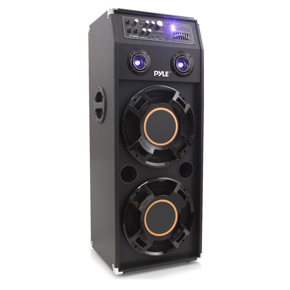 Pyle Psufm1245a 1400 Watt Disco Jam Powered Two Way Pa