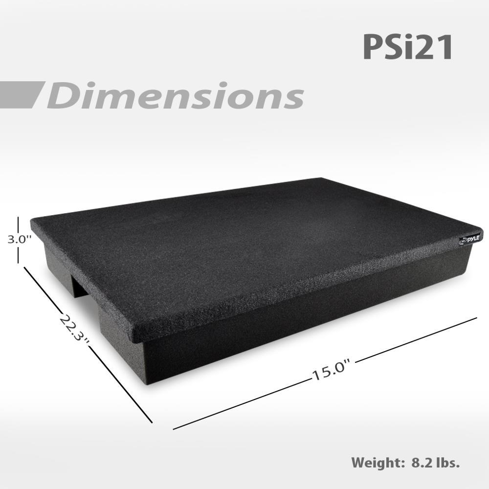 Pyle Psi21 Acoustic Sound Isolation Dampening Recoil