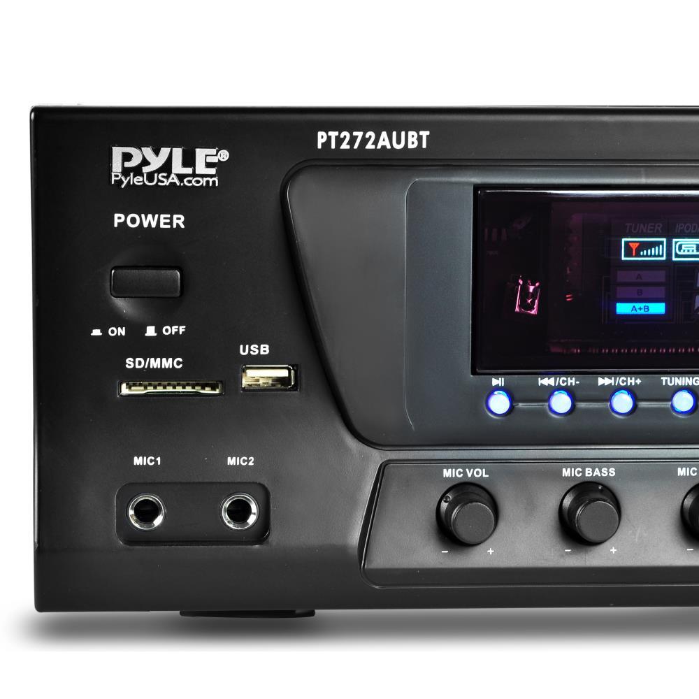 Pyle Pt272aubt Hybrid Amplifier Receiver Home