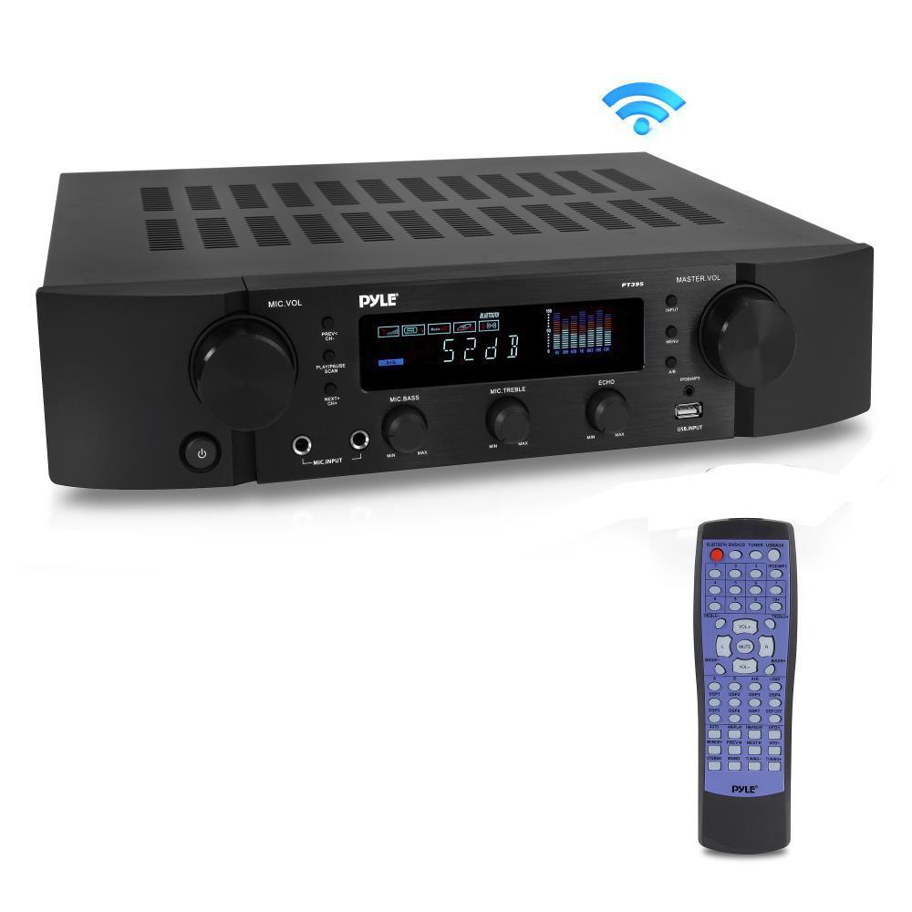 Pyle Pt395 Bluetooth Hybrid Pre Amplifier Home