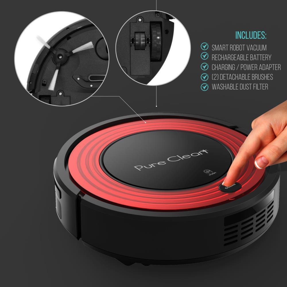 Pyle Pucrc95 Smart Robot Vacuum Automatic Floor