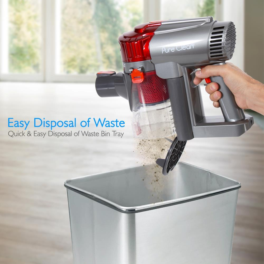 Pyle Pucvcbat48 Pure Clean Handheld Cordless Cyclone Vacuum Cleaner Built In Rechargeable