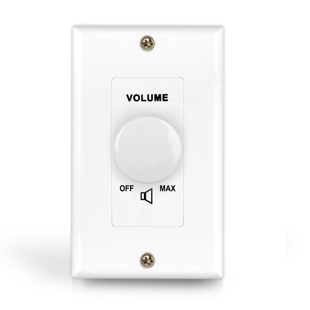 Pylehome Pvc1 Wall Mount Volume Control In Wall
