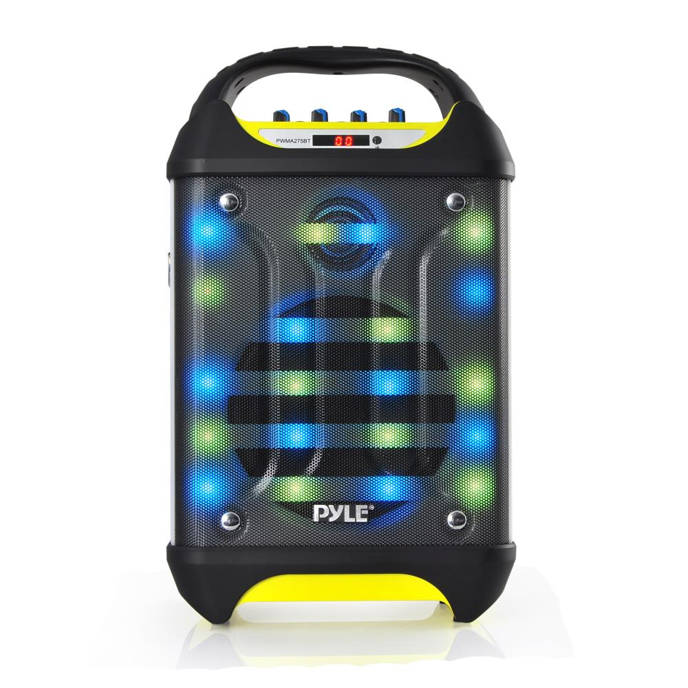 Pyle Pwma275bt Portable Bluetooth Karaoke Speaker