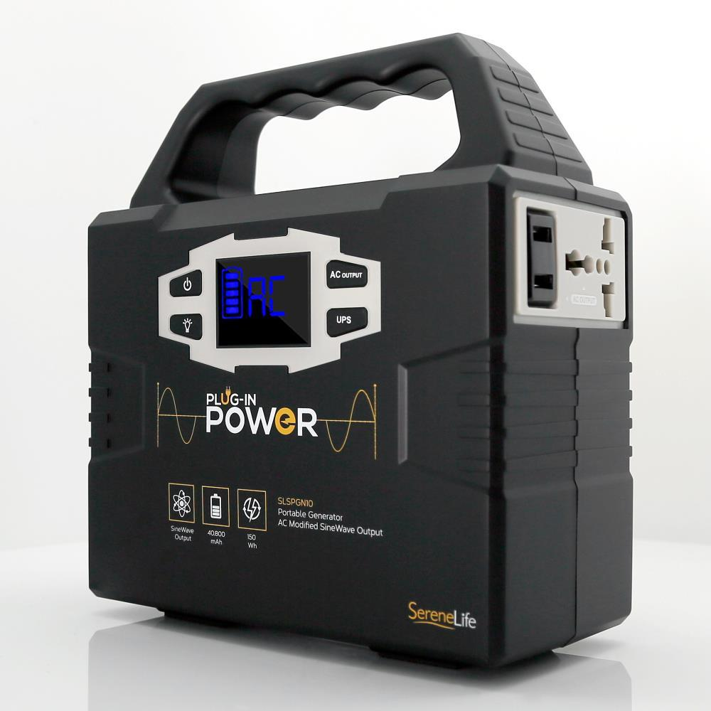 Serenelife Slspgn10 Portable Power Generator