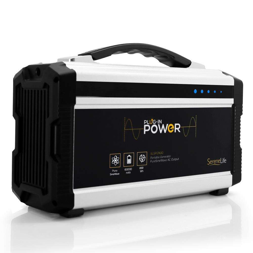 Serenelife Slspgn30 Portable Power Generator