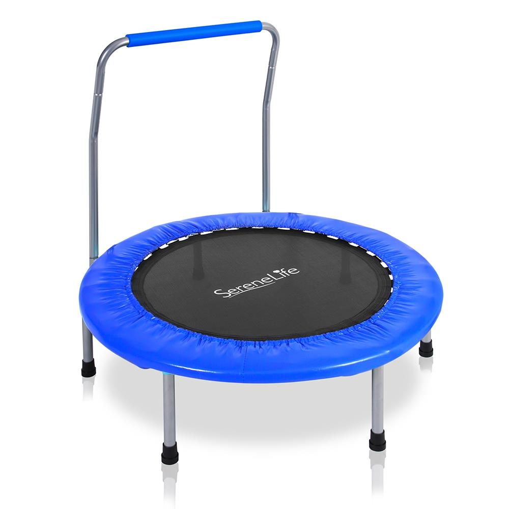 SereneLife - SLSPT369 - Sports Kids Size Trampoline