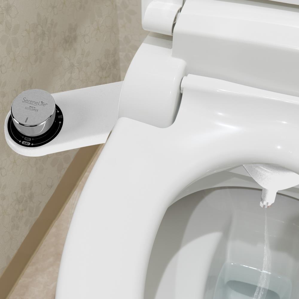 Serenelife Sltlsp05 Bathroom Bidet Attachment Toilet